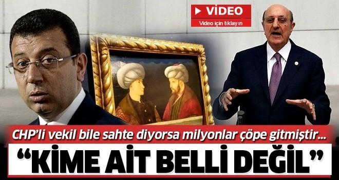 """CHP'li İlhan Kesici'den İBB'ye """"Fatih portresi"""" eleştirisi: """"Kime ait olduğu belli değil! Böyle reklam yapılmaz"""""""