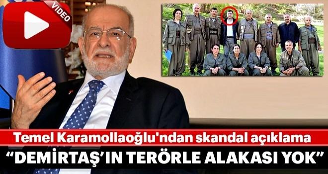 """Temel Karamollaoğlu'ndan skandal açıklama: """"Selahattin Demirtaş'ın terörle alakası yok"""""""