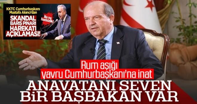 KKTC Başbakanı Ersin Tatar, Mustafa Akıncı'yı kınadı