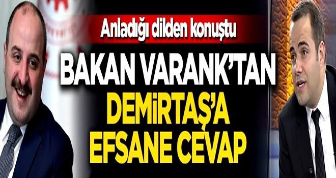 Doğal gaz bulunmasını küçümseyen Özgür Demirtaş'a Bakan Varank'tan efsane gönderme