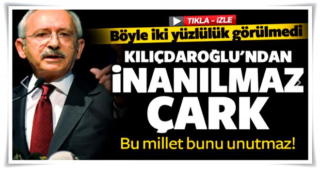 Kemal Kılıçdaroğlu'ndan tarihi çark!