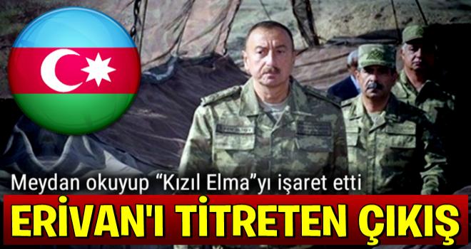 Aliyev: İşgal altındaki topraklarda yeniden bayrağımız dalgalanacak
