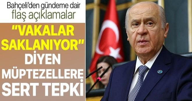 MHP lideri Devlet Bahçeli çağrısını yineledi: Türk Tabipler Birliği kapatılsın