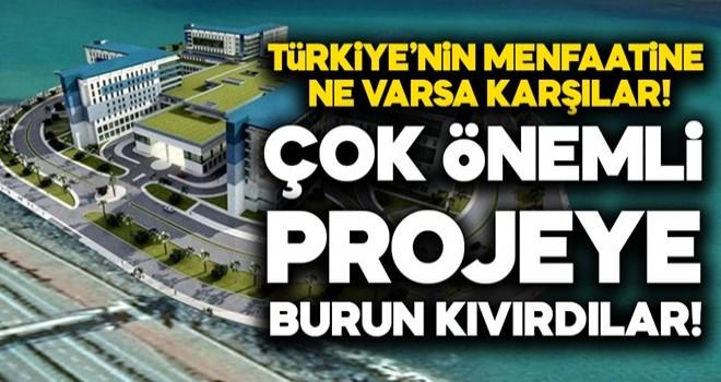 CHP Rize'deki şehir hastanesinin projesine karşı çıktı!