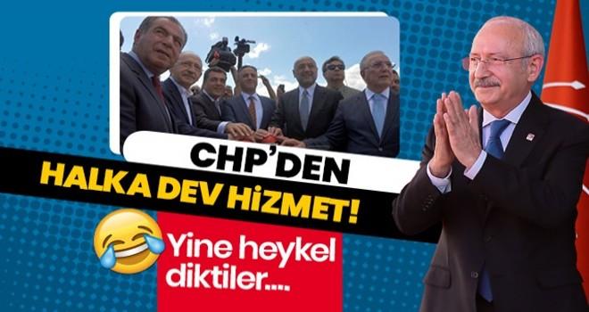 Kılıçdaroğlu, butonla heykel açtı