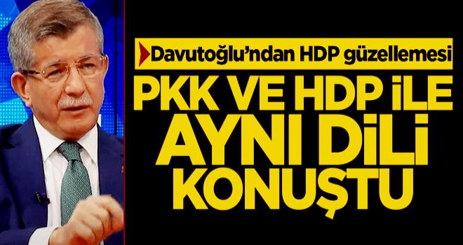 Davutoğlu PKK ve HDP ile aynı dili konuştu