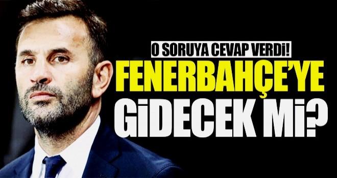 Okan Buruk'tan Fenerbahçe iddialarına yanıt!