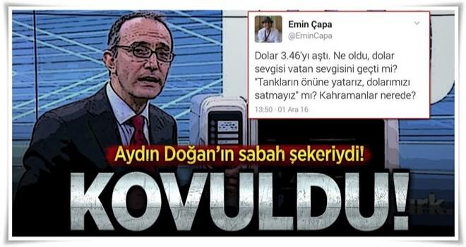 CNN Türk, Emin Çapa'nın işine son verdi .