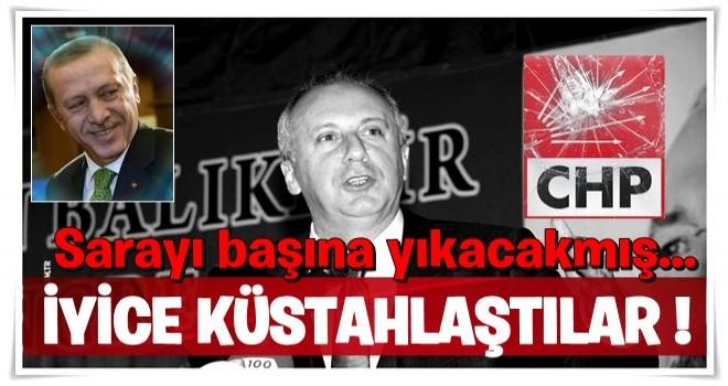 Muharrem İnce'den Erdoğan'a küstah tehdit