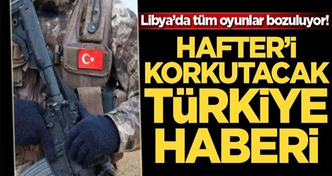 Hafter'i tutuşturacak haber! Türkiye donatacak