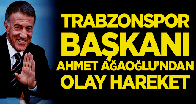 Ahmet Ağaoğlu'ndan olay gol sevinci