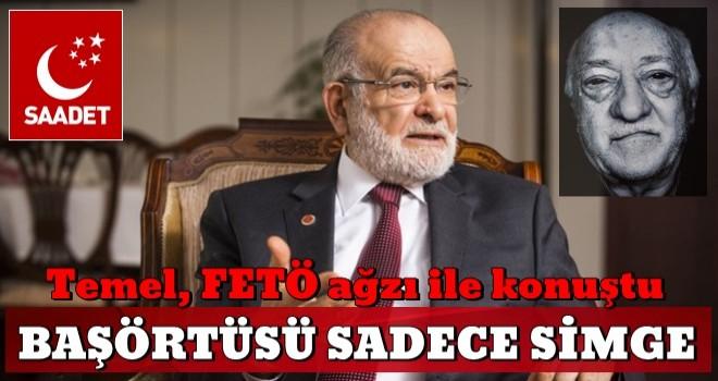 Temel Karamollaoğlu'ndan skandal başörtüsü açıklaması: Sadece bir simge