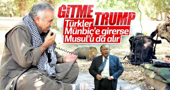PKK'lı Murat Karayılan, ABD'ye yalvardı