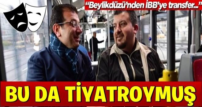 """""""Metrobüs Bahattin"""" de tiyatro çıktı!"""