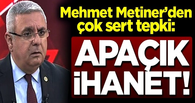 Mehmet Metiner'den çok sert çıkış: Gaflet değilse apaçık ihanettir!