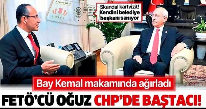 FETÖ'cü Burak Oğuz, CHP Genel Başkanı Kemal Kılıçdaroğlu'nu ziyaret etti