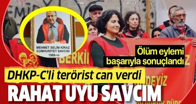 DHKP-C'li terörist Ebru Timtik, ölüm eyleminin 238. gününde can verdi
