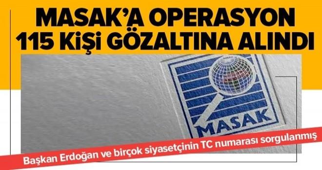 MASAK'a FETÖ operasyonu! Başkan Erdoğan'ın TC kimlik numarasıyla sistemde sorgulama yapmışlar .