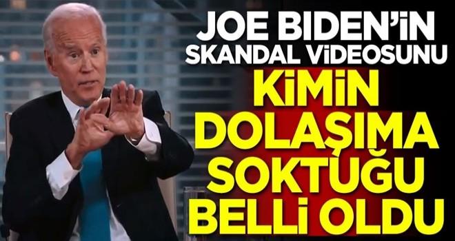 Joe Biden'in skandal videosunu kimin dolaşıma soktuğu belli oldu