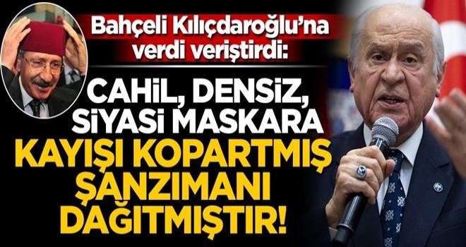 Devlet Bahçeli'den Kemal Kılıçdaroğlu'na sert sözler: Kayışı kopartmış, şanzımanı dağıtmıştır!