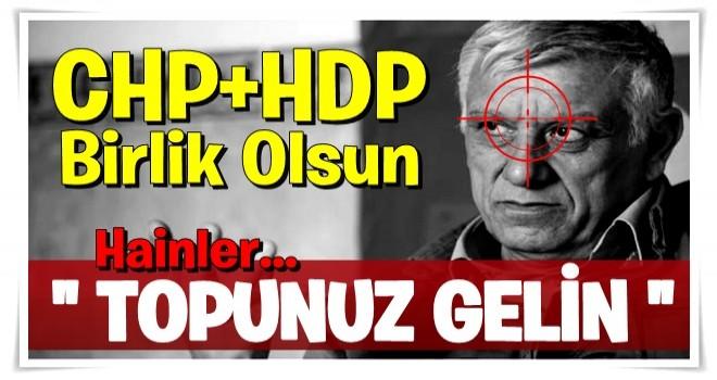 Terör örgütü PKK'nın CHP - HDP bloğu isteği