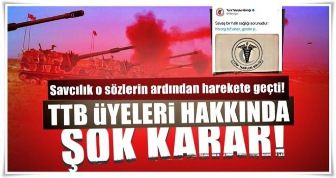 Ankara Cumhuriyet Başsavcılığı TTB hakkında soruşturma başlattı