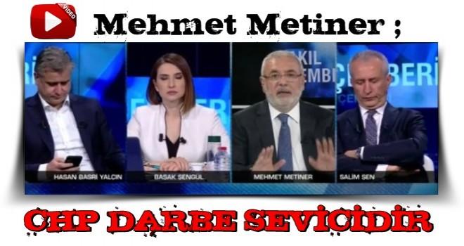 Mehmet Metiner'den CHP'ye FENA ÇAKTI..