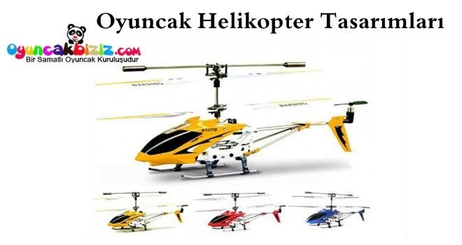 Oyuncak Helikopter Tasarımları