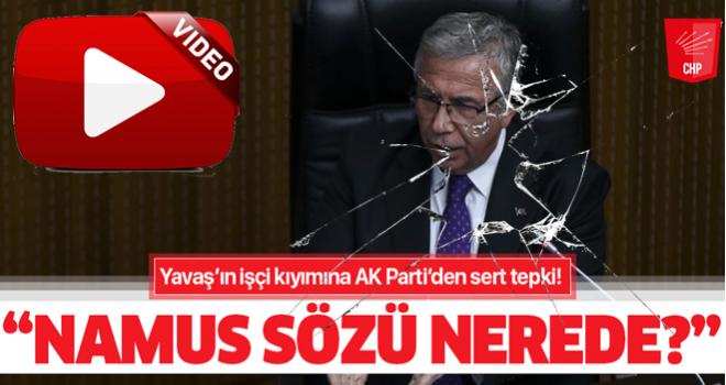 """AK Parti'den Ankara Büyükşehir Belediye Başkanı Mansur Yavaş'a """"namus sözü nerede?"""" sorusu"""