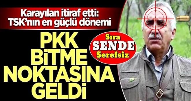 Karayılan itiraf etti: TSK'nın en güçlü dönemi! PKK bitme noktasına geldi