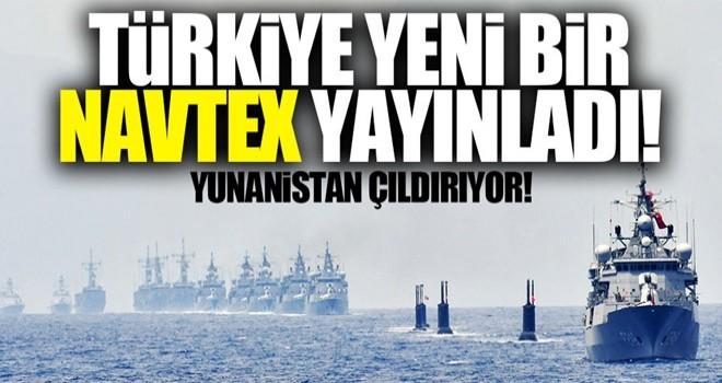 Türkiye yeni bir NAVTEX yayınladı!
