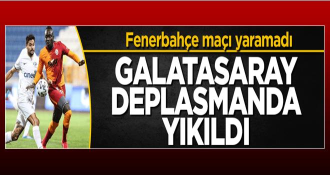 Galatasaray deplasmanda yıkıldı