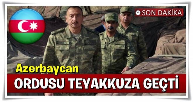 Azerbaycan teyakkuz geçti!