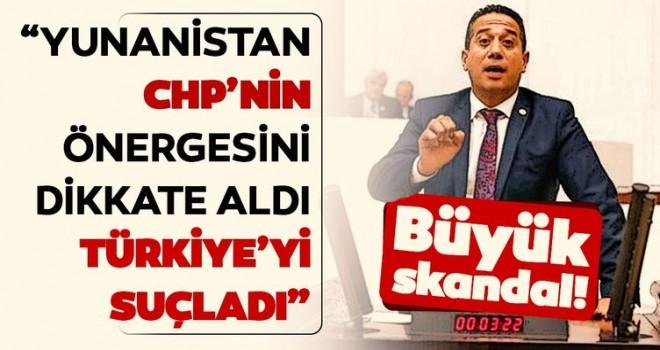 """""""Yunanistan CHP'nin önergesini referans aldı, Türkiye'yi suçladı"""""""