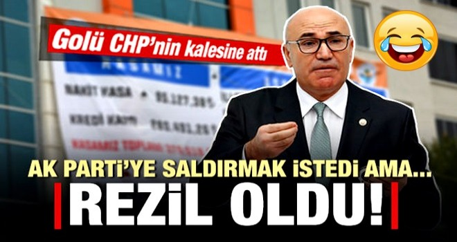 AK Parti'ye saldırmak isteyen Mahmut Tanal fena rezil oldu!