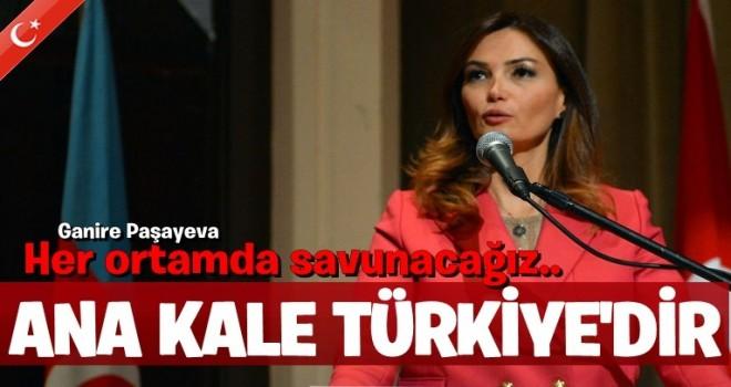 Paşayeva: Türkiye güçlü olursa Türk devletleri güçlü olur