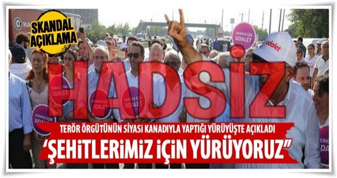 CHP ile HDP birlikte yürüdü