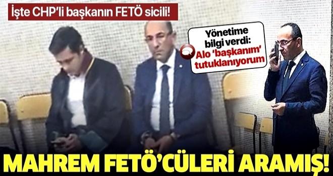 CHP'li Urla Belediye Başkanı Burak Oğuz , 'Üst düzey' FETÖ'cülerle görüşmüş! .