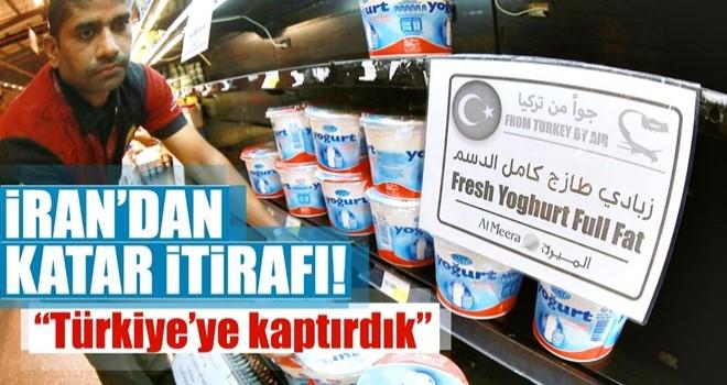İran: Katar pazarını Türkiye'ye kaptırdık