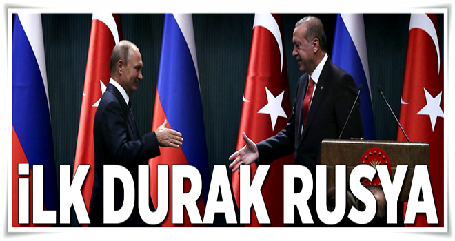 İlk durak Rusya .
