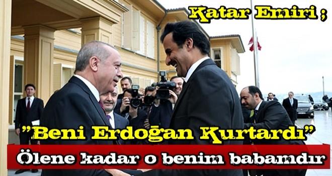 Katar Emiri'nden Macron'a 'Erdoğan' resti!