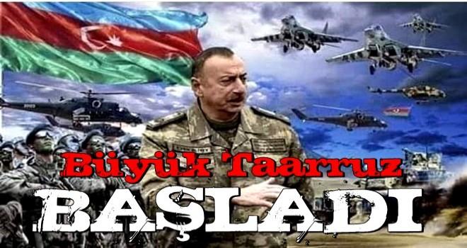 Ermeni işgaline karşı büyük taarruz! Kökleri kazınıyor .