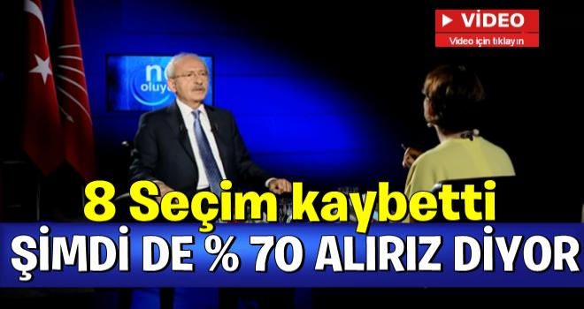 Kemal Kılıçdaroğlu yüzde 70 bekliyor