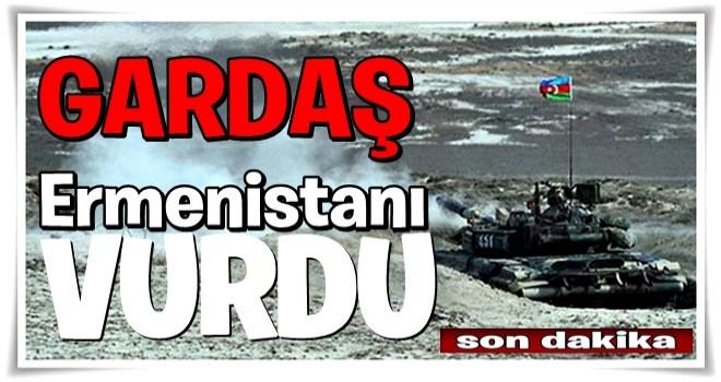 Azerbaycan, Ermenistan birliklerini vurdu .