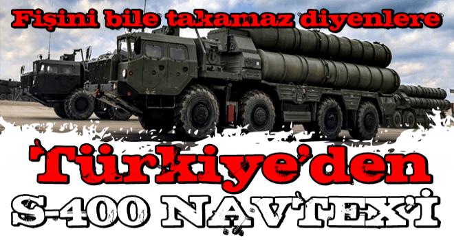 Türkiye'den S-400 Navtex'i