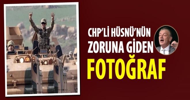 CHP'li Hüsnü Bozkurt'un zoruna giden fotoğraf