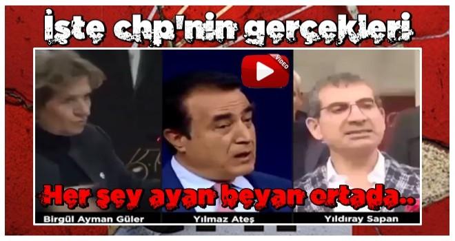 CHP'de çifte standart! 'YPG terör örgütü değil' demek serbest! CHP-FETÖ ilişkisini itiraf edene disiplin .