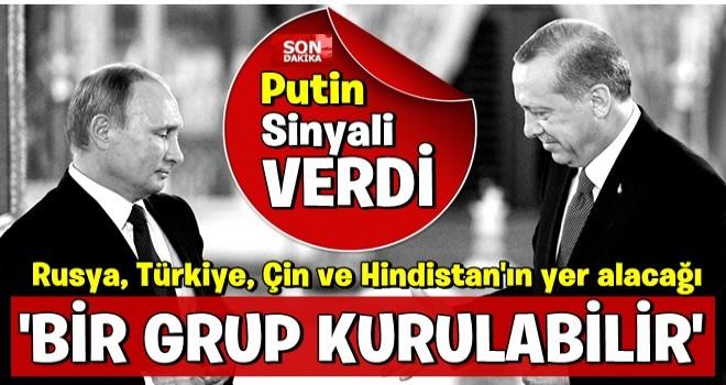 Putin: Rusya, Türkiye, Çin ve Hindistan'ın yer alacağı G7'den daha geniş bir grup kurulabilir