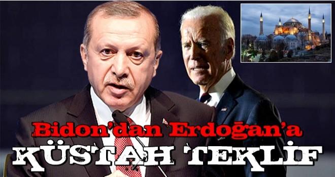 Joe Biden'den Erdoğan'a küstah Ayasofya çağrısı