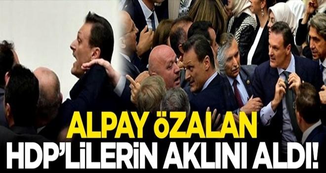 Alpay Özalan HDP'lilerin aklını aldı!